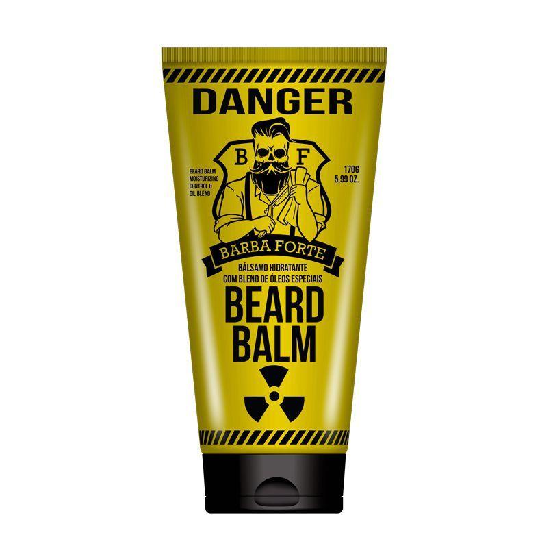 Beard Balm Bálsamo Hidratante Para Barba Danger 170 g - Barba Forte
