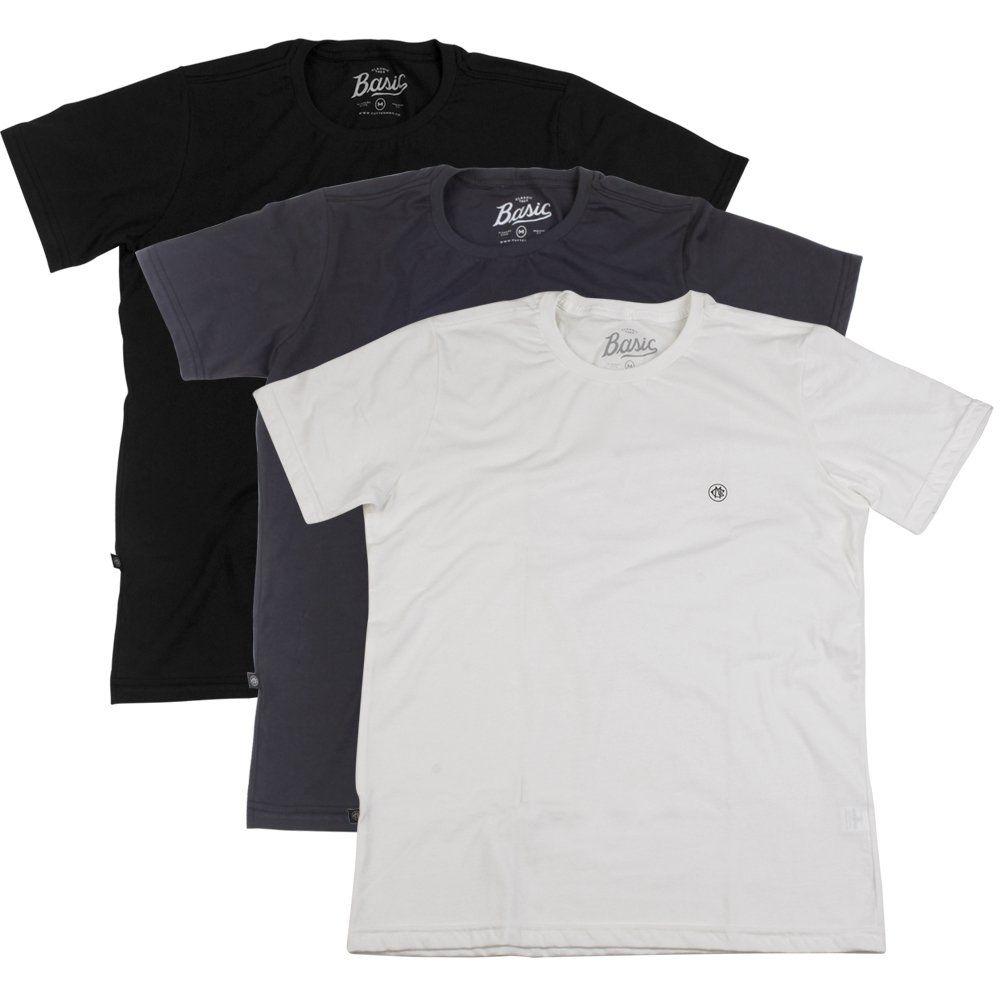 Camiseta Basic 3 Pack - Cutterman
