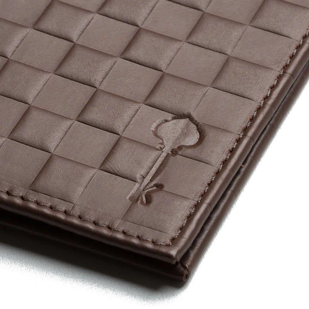 Carteira Wallet Kurt Chess Coffee - Key Design