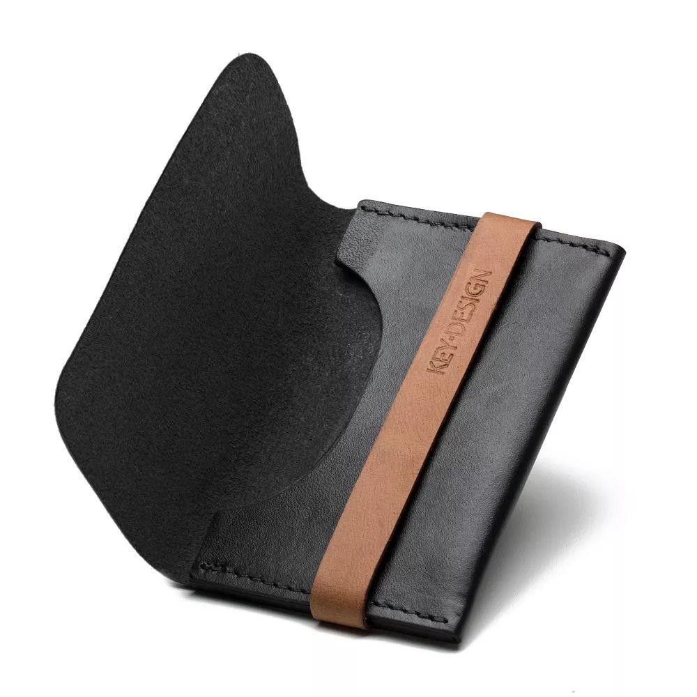 Carteira Wallet Prouve Black Caramel - Key Design