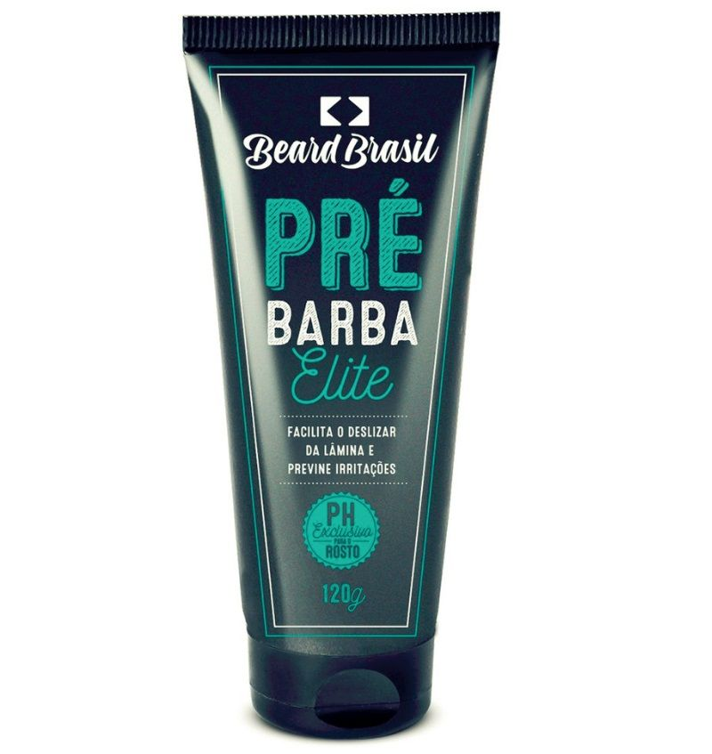 Creme Pré-Barba 120g - Beard Brasil