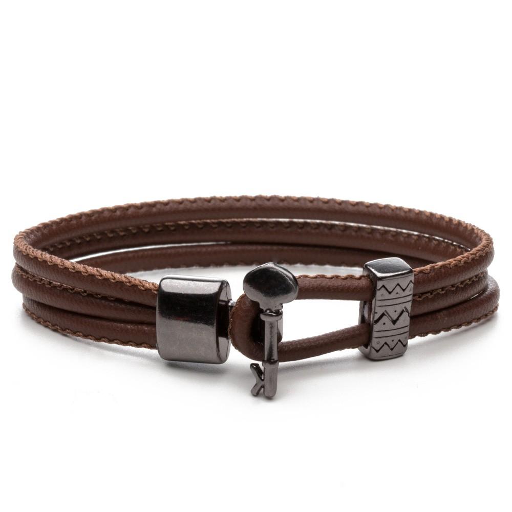De Niro Trend Brown - Pulseira Key Design