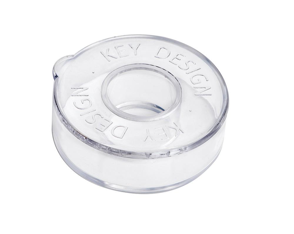 Dee Silver Matte Black - Pulseira Key Design