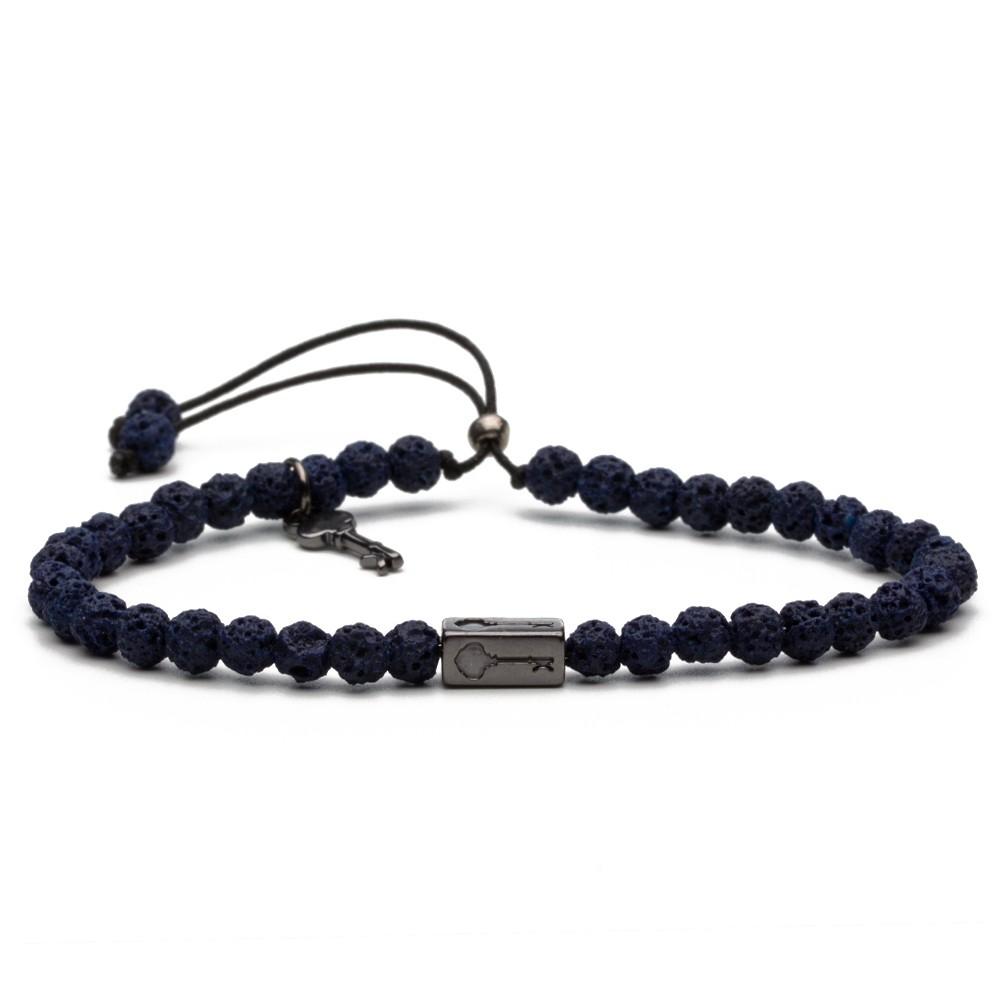 Kennedy Lava Blue - Pulseira Key Design
