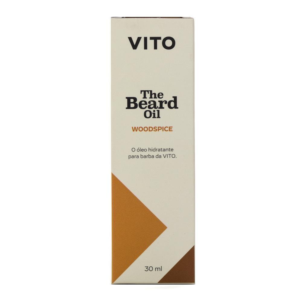 Kit - 2 Óleos para Barba The Beard Oil Woodspice - Vito