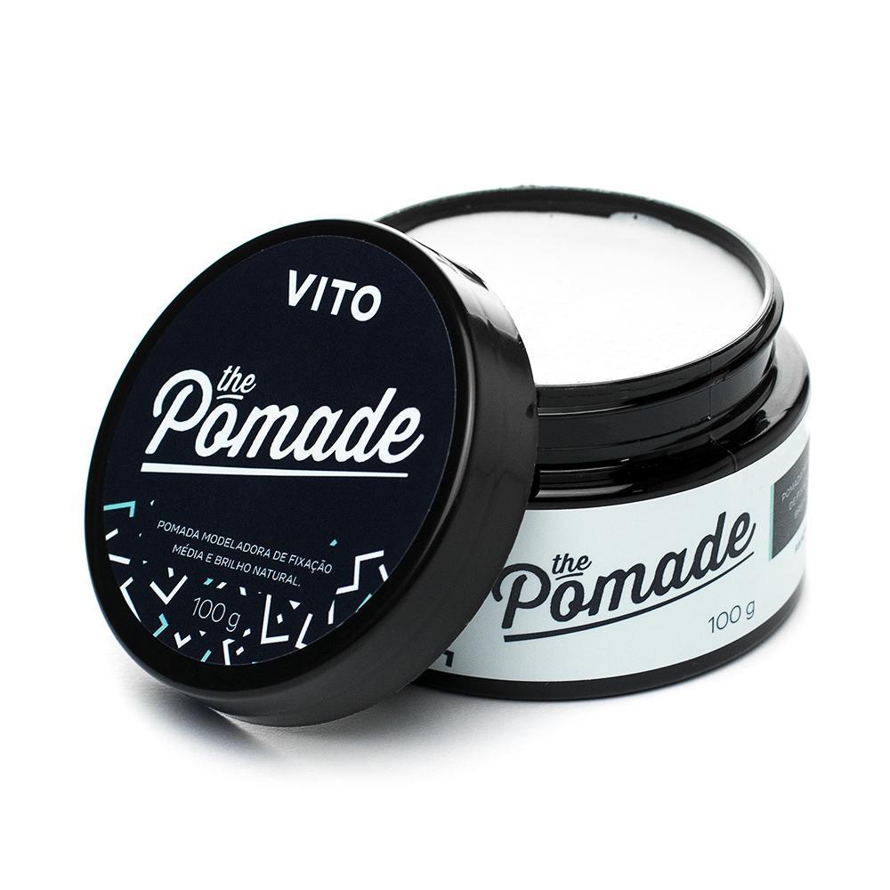 Kit - 2 Pomada Modeladora The Pomade 100 g - Vito