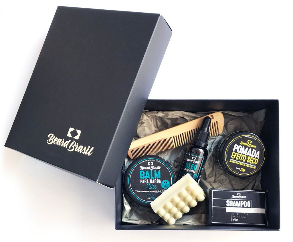 Kit Dom Mendes - Beard Brasil