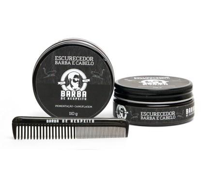 Kit Escurecedor Para Barba - Barba de Respeito