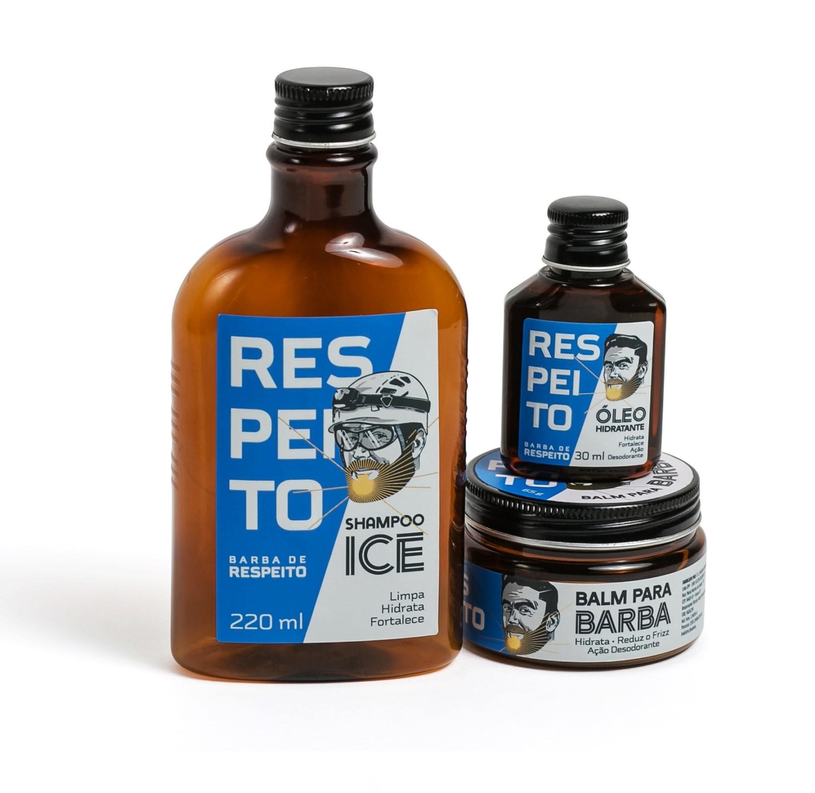 Kit Ice - Barba de Respeito