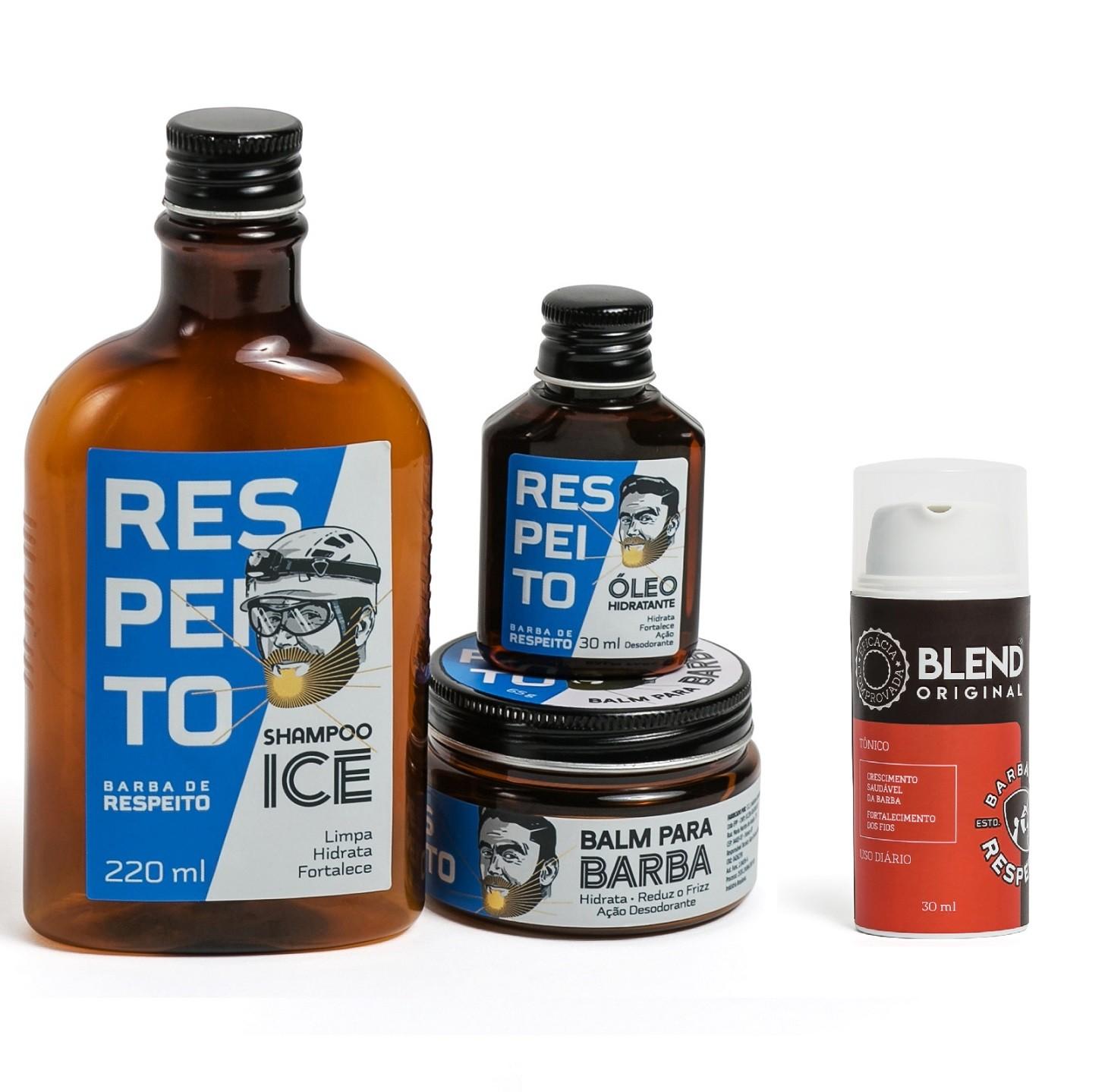 Kit Ice + Blend - Barba de Respeito