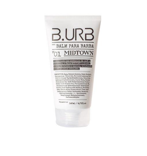 Kit Shampoo e Balm Para Barba - White - Barba Urbana