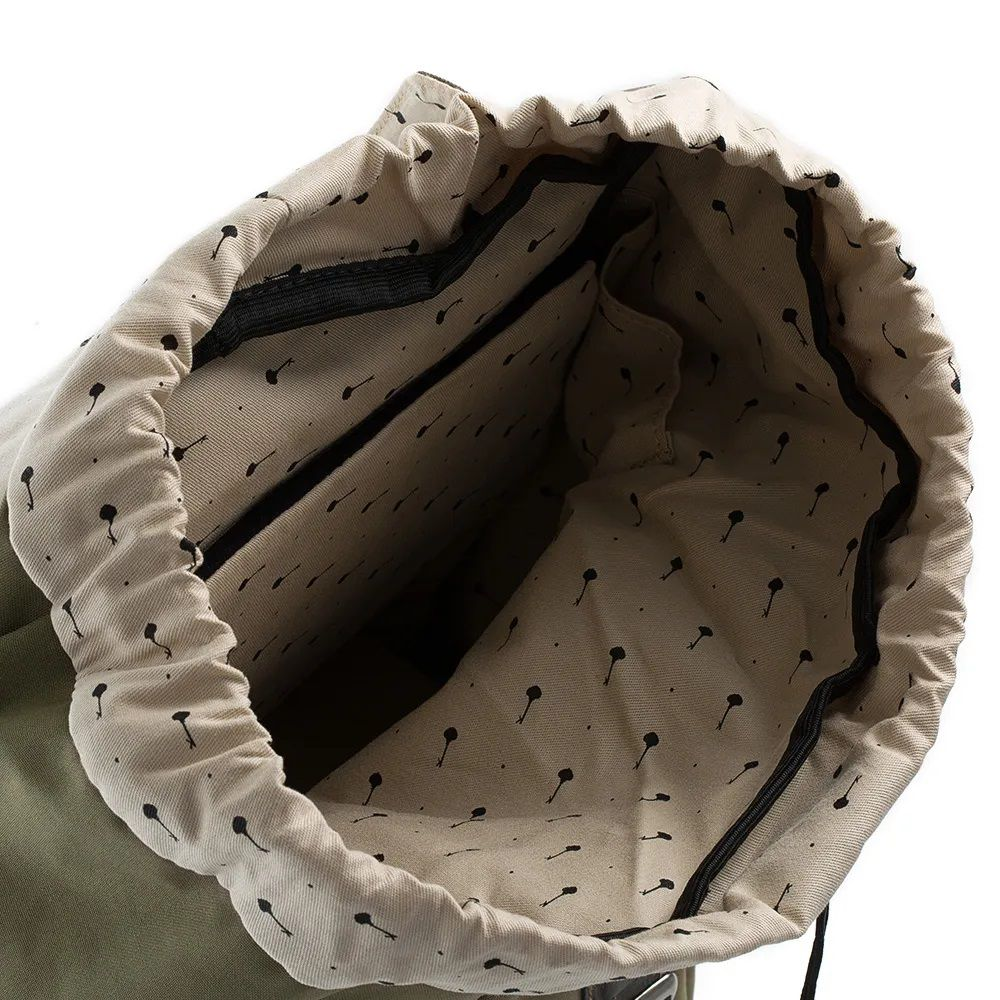 Mochila Backpack Khaik - Key Design