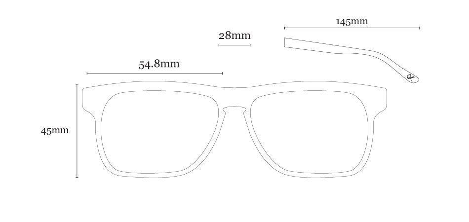 Óculos de Sol LIVO - Tom Caramelo