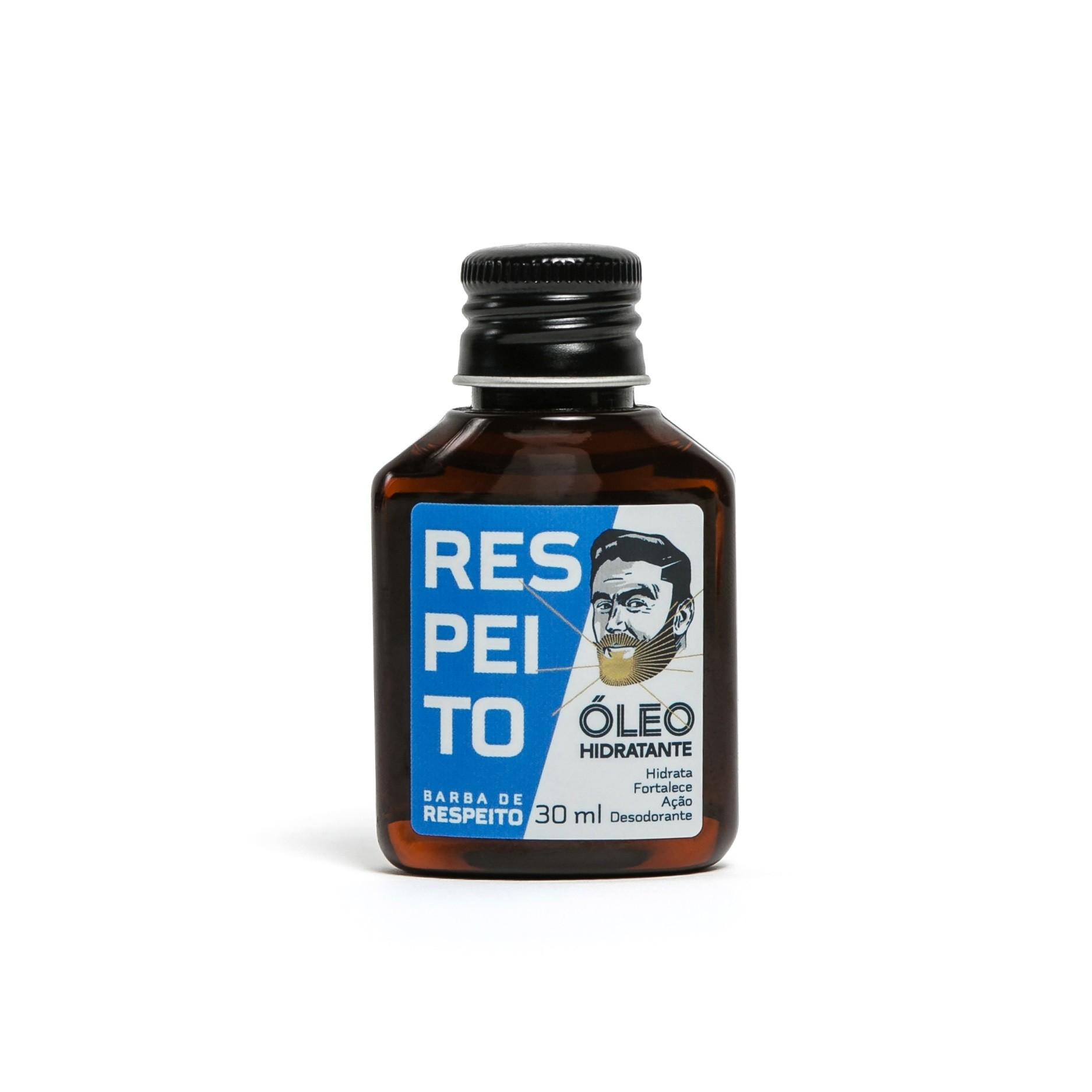 Óleo Hidratante Para Barba - Barba de Respeito