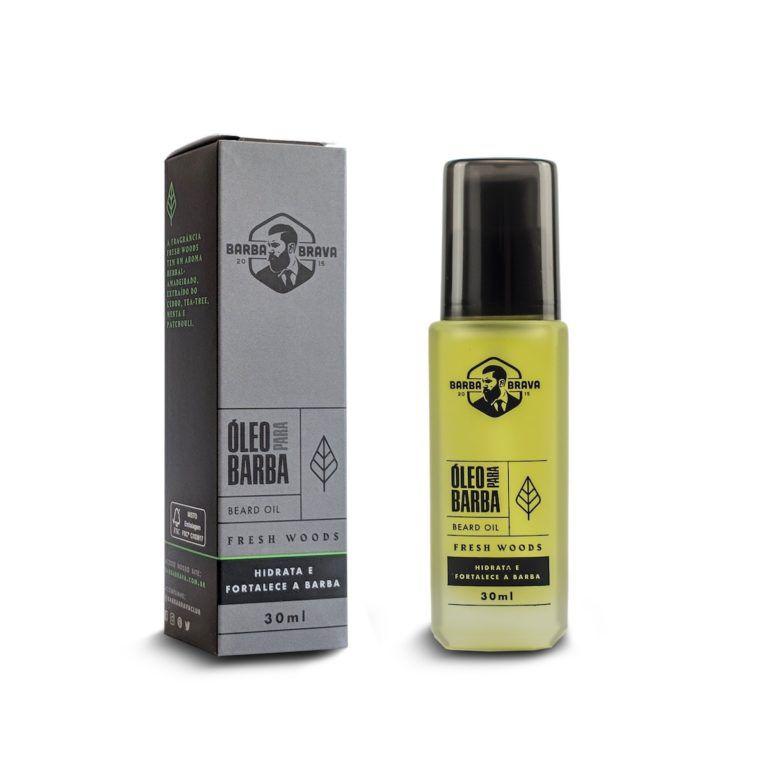 Óleo Para Barba - Fresh Woods - Barba Brava