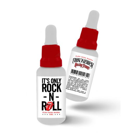 Óleo Para Barba - The Rolling Stones - Don Alcides