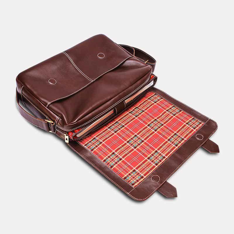 Pasta Bolsa Masculina de Couro para Notebook Shuster NW066 - Nordweg