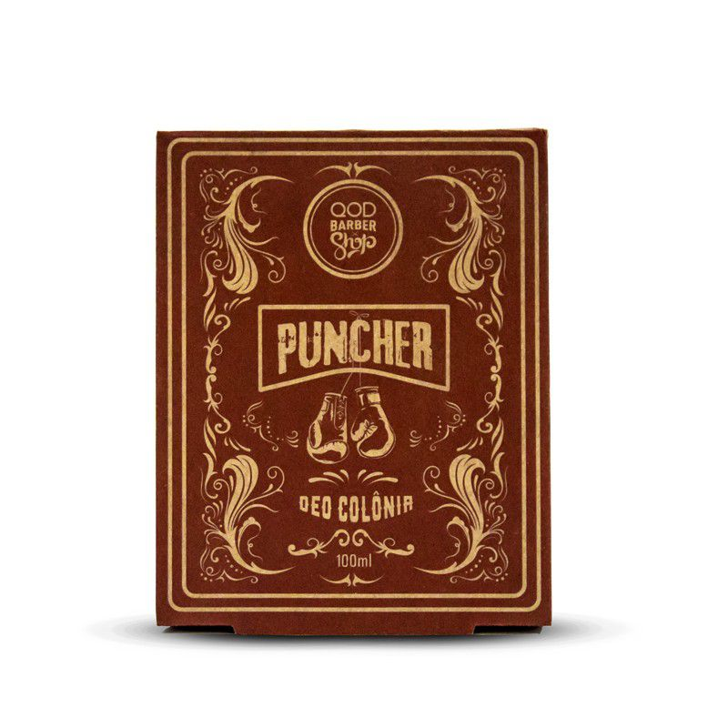 Perfume Deo Colônia Puncher 100 ml - QOD Barber Shop