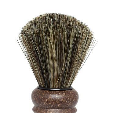 Pincel de Barbear Natural - Cerdas de Cavalo - Vito
