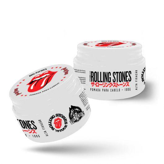 Pomada Para Cabelo Efeito Matte - The Rolling Stones - Don Alcides