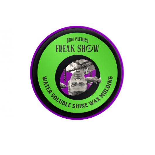 Pomada Para Cabelo - Shine Wax Brilho - Alta Fixação Freak Show - Don Alcides