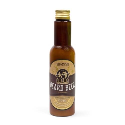 Shampoo Cerveja Para Barba e Cabelo - Barba de Respeito - 170 ml
