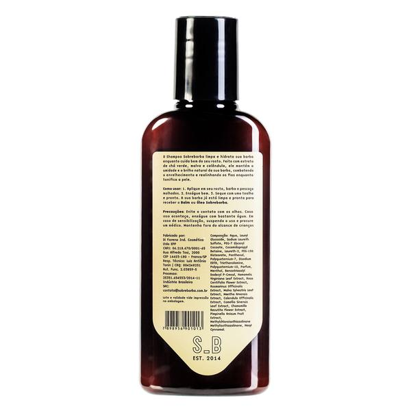 Shampoo de Barba Jungle Boogie 140ml -  Sobrebarba