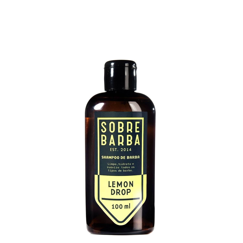 Shampoo de Barba Lemon Drop - Viagem -  Sobrebarba