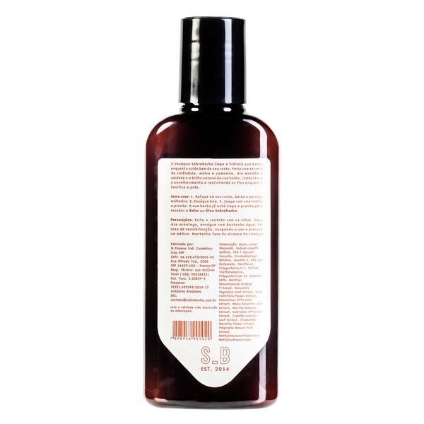 Shampoo de Barba Light My Fire 140ml -  Sobrebarba