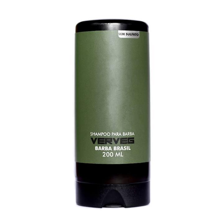 Shampoo Para Barba 200 ml Verveg - Vegano - Barba Brasil