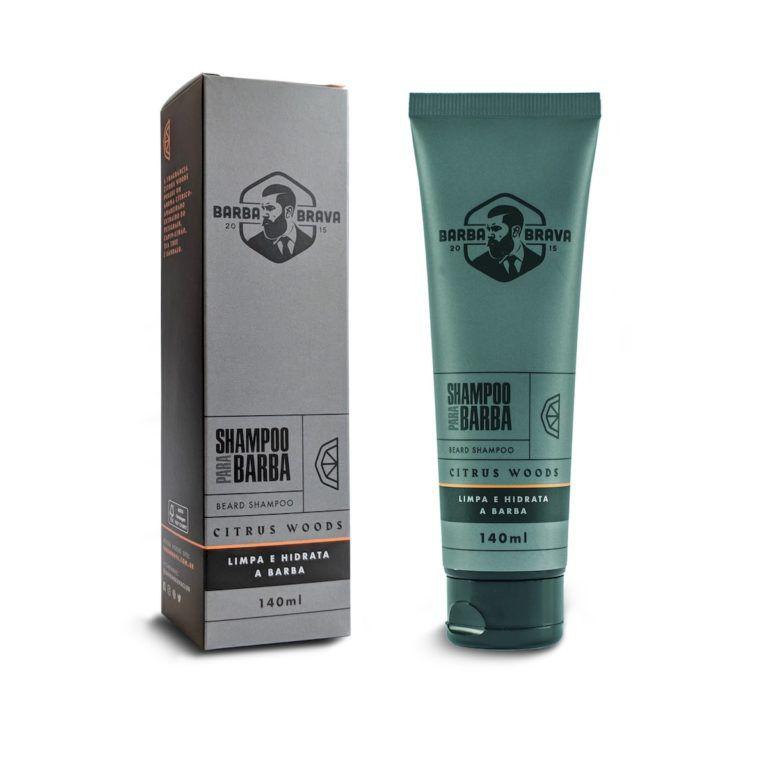 Shampoo Para Barba - Citrus Woods - Barba Brava