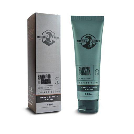 Shampoo Para Barba - Coffe Blend - Barba Brava