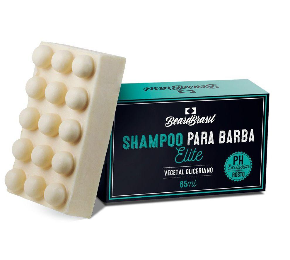 Shampoo para Barba em Barra Elite - Beard Brasil