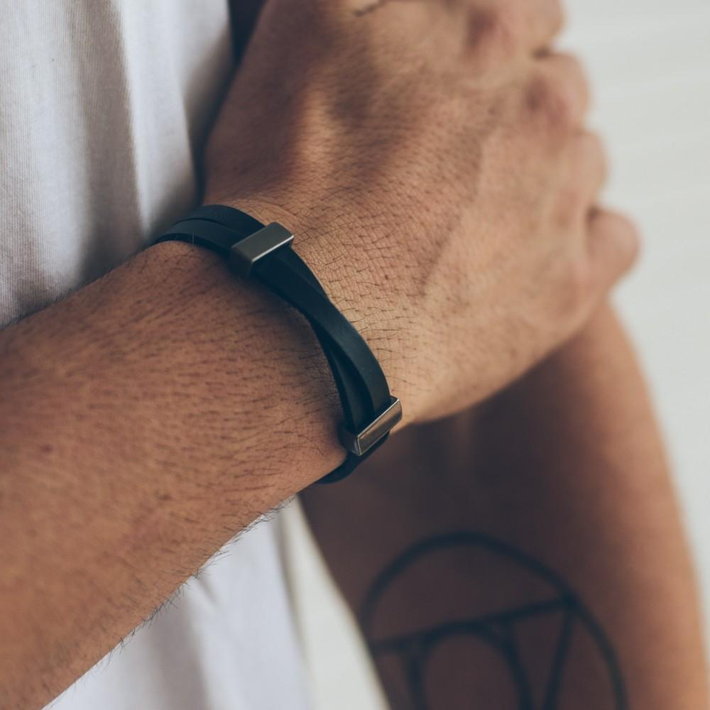 Stefano Black Series - Pulseira Key Design