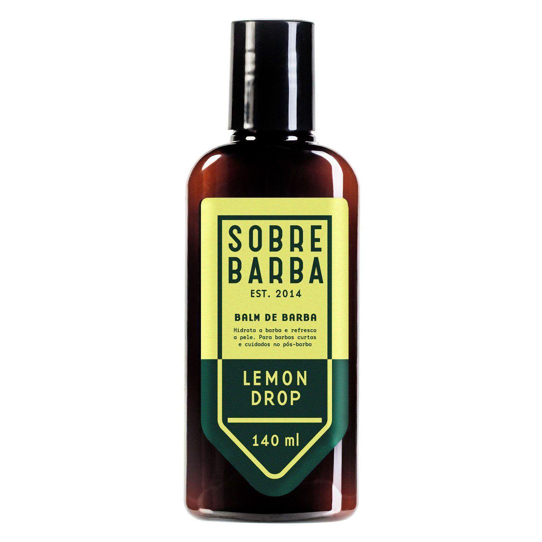 Trio - Shampoo, Balm e Condicionador - Lemon Drop - Vol. 5 - Sobrebarba