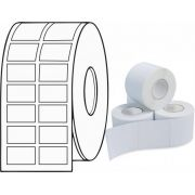Etiqueta Adesiva Térmica 27mm X 15mm 30m (6 Rolos c/ 3.300 un. cada)