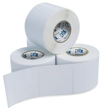 Etiqueta Adesiva para Balança 40x40 mm ( 12 Rolos 500 un. cada)  - Foco Automação Comercial e Informática