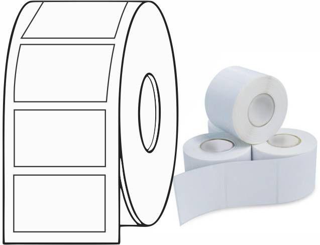 Etiqueta Adesiva Térmica 60x30 mm 30m (6 Rolos c/ 900 un. cada)