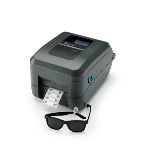 Impressora de Etiquetas Zebra GT800 300 DPI  - Foco Automação Comercial e Informática