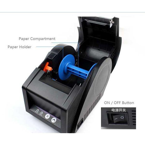 Impressora de Etiquetas e Cupom Não Fiscal GPrinter 3120tu  - Foco Automação Comercial e Informática
