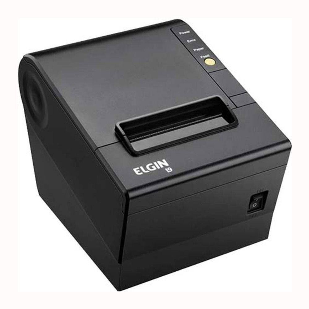 Impressora Térmica Não Fiscal Elgin I9 Ethernet  - Foco Automação Comercial e Informática