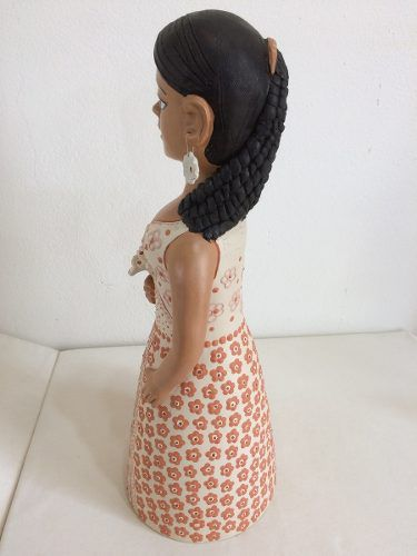 Mulher Jequitinhonha Cerâmica Artesanal Decorativo