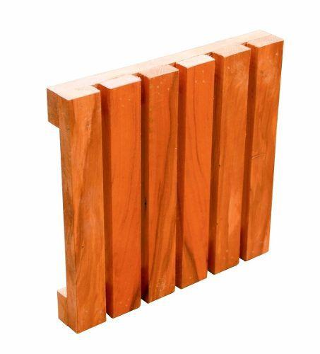 Deck Madeira De Demolição Placas Modulares 50x50x5