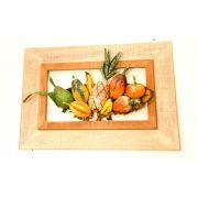 Artesanato de parede Quadro Frutas Frete Grátis