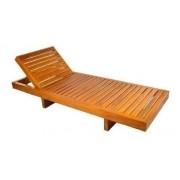Cadeira Espreguiçadeira Regulável 2,00 X 0,80 Area Piscina