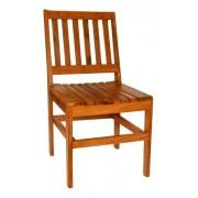 Kit 4 Cadeira De Madeira Maciça De Demolição