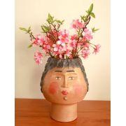 Vaso de flores de cerâmica Artesanal Decorativo frete grátis