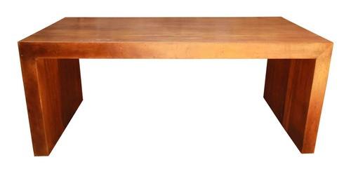 Mesa Em Madeira De Demolição Modelo U 1,80x80x78