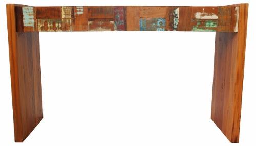 Aparador Modelo Retalho 1,40x45x85 Peroba Rosa Em Madeira De Demolição