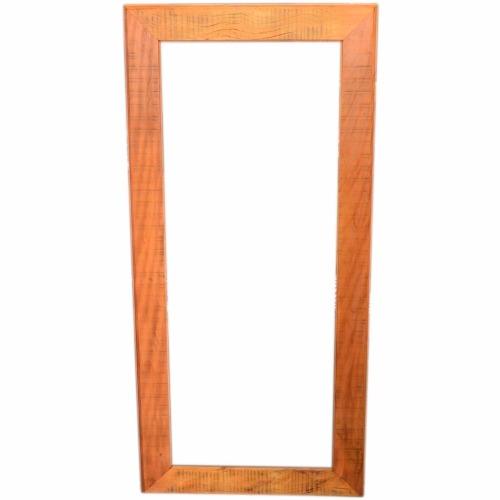 Moldura Para Espelho Rústica Em Peroba Rosa De Demolição 1,00x80 Sem Espelho